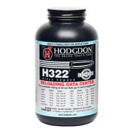 Hodgdon H322 Smokeless Powder 1 Pound