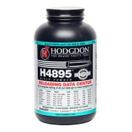 HODGDON H4895 1LB POWDER (1.4c) 10/CS
