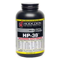 HODGDON HP38 1LB POWDER (1.4c) 10/CS