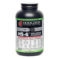 Hodgdon HS6 Smokeless Powder 1 Pound