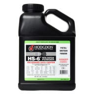 Hodgdon HS6 Smokeless Powder 8 Pound