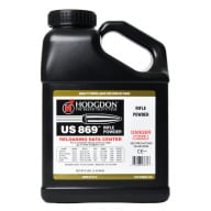 Hodgdon US 869 Smokeless Powder 8 Pound