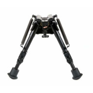"HARRIS BIPOD SERIES S HINGED BASE 6-9"" 13oz"