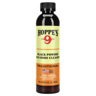 HOPPES #9 PLUS 8oz BLK PWD SOLVENT/LUBE 10/CS