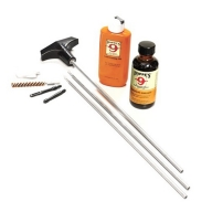 HOPPES CLEAN KIT 40/10MM PISTOL w/ALUM ROD 10/CS