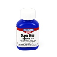 BIRCHWOOD-CASEY SUPER BLUE 3oz LIQUID GUN BLUE 6/CS