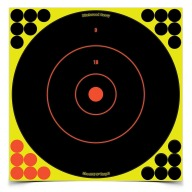 "BIRCHWOOD-CASEY SHOOT-NC 12"" ROUND BULL 12/PKG 6/CS"