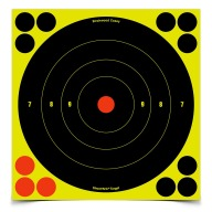 "BIRCHWOOD-CASEY SHOOT-NC 8"" ROUND BULL 5/PKG 12/CS"