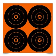 "BIRCHWOOD-CASEY BIG-BURST 6"" ROUND TARGET 12/PKG 12/CS"