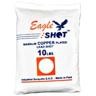 EAGLE COPPER PLATED SHOT #4 10LB BAG