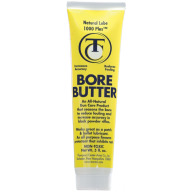 THOMPSON/CENTER ARMS BORE BUTTER NATURAL LUBE 1000+ TUBE 5oz 6/CS