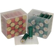 MTM SHOTSHELL STORAGE BOX 25rd *4-PACK* CLEAR 6/CS