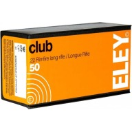 ELEY AMMO 22LR 40gr LDRN CLUB 1085fps 50/bx 100/cs