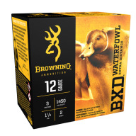 "BROWNING AMMO 12ga 3"" 1.25oz 1450fps #2 25/bx 10/cs"
