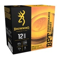 BROWNING AMMO 12ga 2.75d 1-1/8 1145fps #8 250/cs