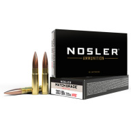 NOSLER AMMO 300 BLACKOUT 220g CUSTOM MATCH 20b 20c