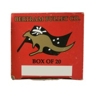 BERTRAM BRASS 375 REMINGTON ULTRA MAG UNPRM 20/BOX