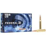 FEDERAL AMMO 270 WINCHESTER 130gr COPPER HP (P/S) 20/b 10/c