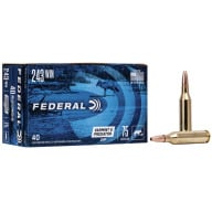 FEDERAL AMMO 243 WINCHESTER 75gr JHP AM.-EAGLE 40/bx 5/cs