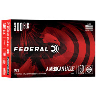 FEDERAL AMMO 300 BLKOUT 150gr FMJ AM. EAGLE 20/bx 25/cs