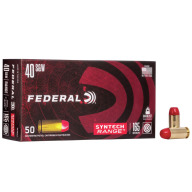 FEDERAL AMMO 40 S&W 165gr TSJ SYNTH-JACKET 50/bx 10/cs