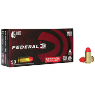 FEDERAL AMMO 45 ACP 230gr TSJ SYNTH-JACKET 50/bx 10/cs