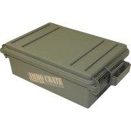 "MTM AMMO CRATE FLAT ARMY GREEN IN:17.2""x10.7""x5.5"""