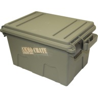"MTM AMMO CRATE FLAT ARMY GREEN IN:17.2""x10.7""x9.2"""