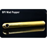 BPI WAD POPPER SOLID BRASS 28-10ga