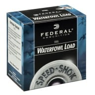 "FEDERAL AMMO 20ga 3"" STEEL 1300fps 7/8oz #3 25b 10c"