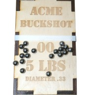ACME BUCKSHOT 00 (.330) 5-LB/BOX
