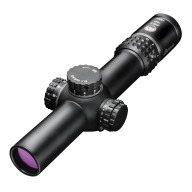 Burris Xtreme Tactical XTRII Rifle Scope 1-8x24mm 34mm Tube MAD Knob System Matte Illuminated Ballistic Dot Reticle