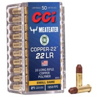 CCI AMMO 22LR 21gr CHP 22-COPPER 50/bx 100/cs