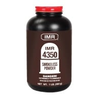 IMR POWDER 4350 1LB 10/CS