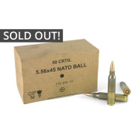 GG&G AMMO 5.56 NATO 62gr SS109/GP21 50/bx 20/can