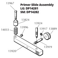 DILLON RL550 PRIMER SLIDE ASSEMBLY, LARGE