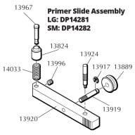 DILLON RL550 PRIMER SLIDE ASSEMBLY, SMALL