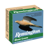 "REMINGTON AMMO 20ga 2.75"" 1225 fps 7/8oz #8 25/bx 10/cs"