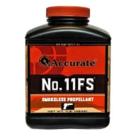 ACCURATE #11FS 1LB POWDER (1.4c) 10/CS