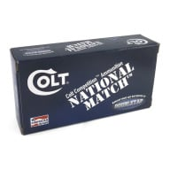 COLT AMMO 10MM 180gr FMJ COMPETITION 50/BX 20/CS