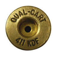 QUALITY CARTRIDGE BRASS 411 KDF UNPRIMED 20/BAG