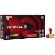 FEDERAL AMMO 40 S&W 205gr TSJ SYNTH-JACKET 50/b 10/c
