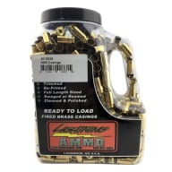 "LIGHTNING FIRED BRASS 40 S&W""READY TO LOAD""1000JUG"