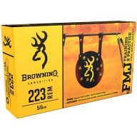 BROWNING AMMO 223 REMINGTON 55gr FMJ 20/bx 50/cs