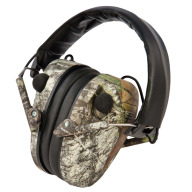 CALDWELL EMAX LOW PROFILE STEREO EAR MUFF MOSSY OAK