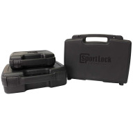"BIRCHWOOD-CASEY PLASTIC 10"" HANDGUN CASE, BLACK"