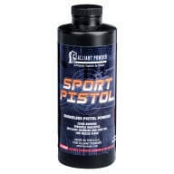 ALLIANT SPORT PISTOL 4lb POWDER (1.4c) 6/cs