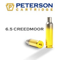 PETERSON BRASS 6.5 CREEDMOOR UNPRIMED 50/bx