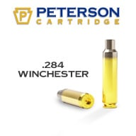 PETERSON BRASS 284 WINCHESTER UNPRIMED 50/bx