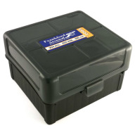 Frankford Arsenal Plastic Hinge-Top Ammo Box #1005 100 Rounds